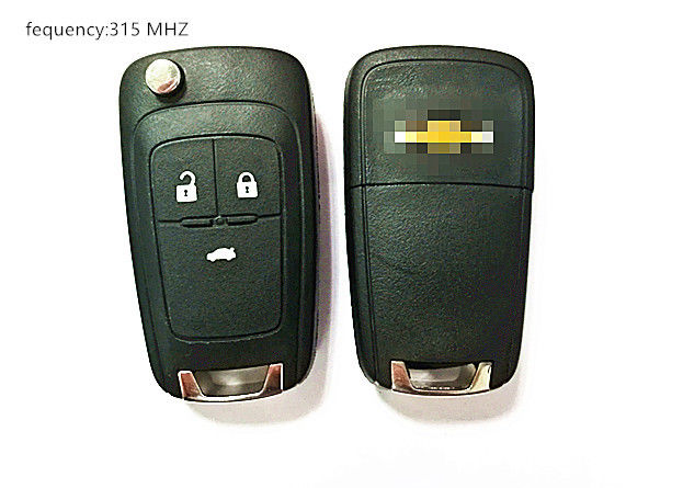 315 MHZ 3 Button Car Remote Key / Chevrolet Car Key V2T01060512 GM 1350022 FRQUENCY