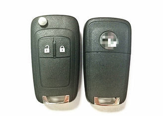 Black Vauxhall Car Key 2 Button 13279278 For Astra J / Insignia / Mokka / Zafira C