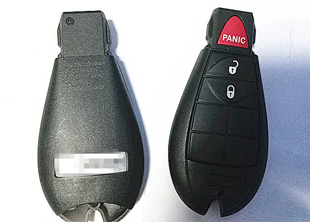 IYZ-C01C 433 MHZ Dodge 2+1 B Key Fob , Black Dodge Charger Remote Start