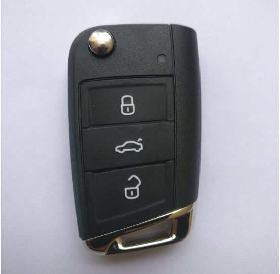 Original VW Golf 7 MQB Flip Remote Key / Vw Remote Key 433 Mhz 5G6 959 753 AG