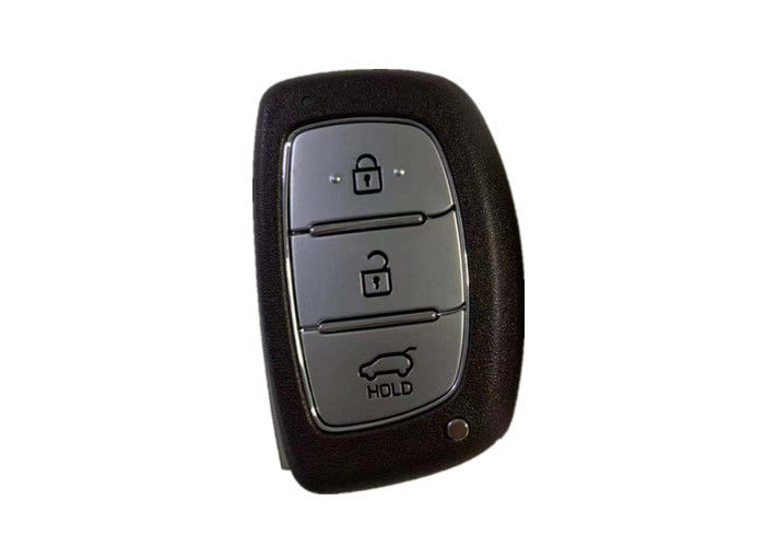 Hyundai Ioniq Keyless Remote Key Fob 433 Mhz Frequency Black Color With Logo